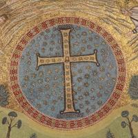 Particolare musivo della cupola - Sant'Apollinare in Classe foto di Chiara Dobro