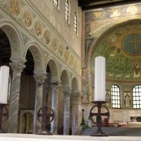 Navata centrale e sinistra- Sant'Apollinare in Classe foto di Chiara Dobro