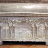 Sant'apollinare in classe, interno, sarcofagi ravennati 01, VI-VII secolo ca by Sailko