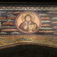 Sant'apollinare in classe, mosaici dell'arcone, cristo benedicente tra i simboli degli evangelisti (IX sec.) 03 by Sailko