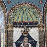 Sant'apollinare in classe, mosaici del catino, ecclesio, 550 ca. 02 by Sailko