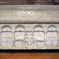 Sant'apollinare in classe, interno, sarcofagi ravennati 02, VI-VII secolo ca by Sailko