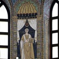 Sant'apollinare in classe, mosaici del catino, orso, 550 ca. 01 by Sailko