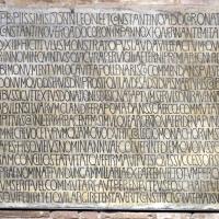 Sant'apollinare in classe, interno, epigrafe by Sailko