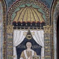 Sant'apollinare in classe, mosaici del catino, severo, 550 ca. 02 by |Sailko|