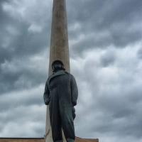 Il monumento a Francesco Baracca - Lugo di Romagna (RA)