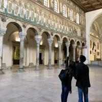 Looking up in Sant'Apollinare Nuovo, Ravenna photo by EmilianoFarina