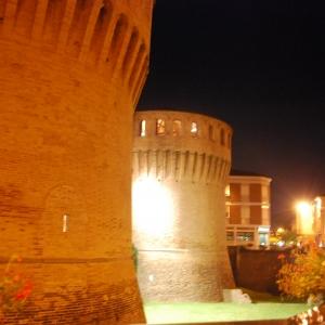 Rocca di Riolo - Rocca di notte foto di: |Rocca di Riolo| - Rocca di Riolo
