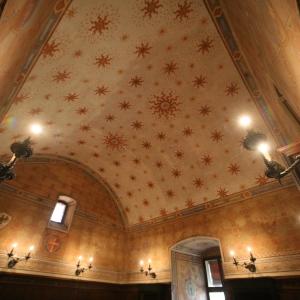 Rocca Estense - Rocca Estense, la volta dipinta della Sala Baracca foto di: |Gianni Bartolotti| - Archivio fotografico comunale