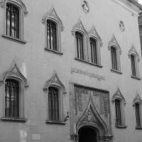 Galleria Parmeggiani, particolari all'ingresso 1