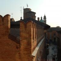 I tetti di Reggio Emilia che si affacciano sulla Piazza Grande