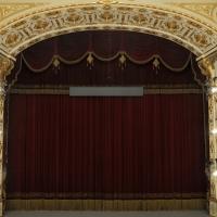 Teatro Municipale Romolo Valli sipario 1