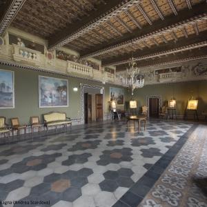 Castello di Bianello - Salone da ballo foto di: |IBC Regione Emilia Romagna Andrea Scardova| - IBC