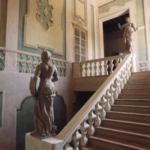 Castello di Arceto - scalone interno foto di: |comune di Scandiano| - comune di Scandiano