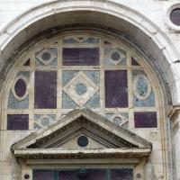 Tempio malatestiano, ri, facciata, specchiature albertiane foto di Sailko