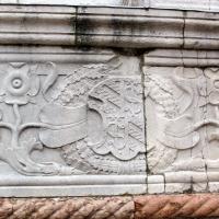 Tempio malatestiano, ri, fianco dx, stemma malatesta 01 by Sailko