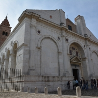 Tempio Malatestiano esterno DB-06 foto di Bacchi Rimini