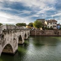 Ponte di Tiberio dalla citta' - Matteo