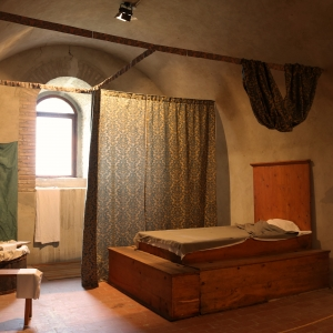 Rocca Malatestiana - Rocca Malatestiana Montefiore Conca - camera costanza ricostruzione storica foto di: |Lara Braga| - Montefiore Conca