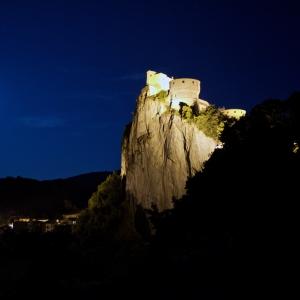 Fortezza di San Leo - La Fortezza di notte foto di: |Luigi Ciucci| - Luigi Ciucci